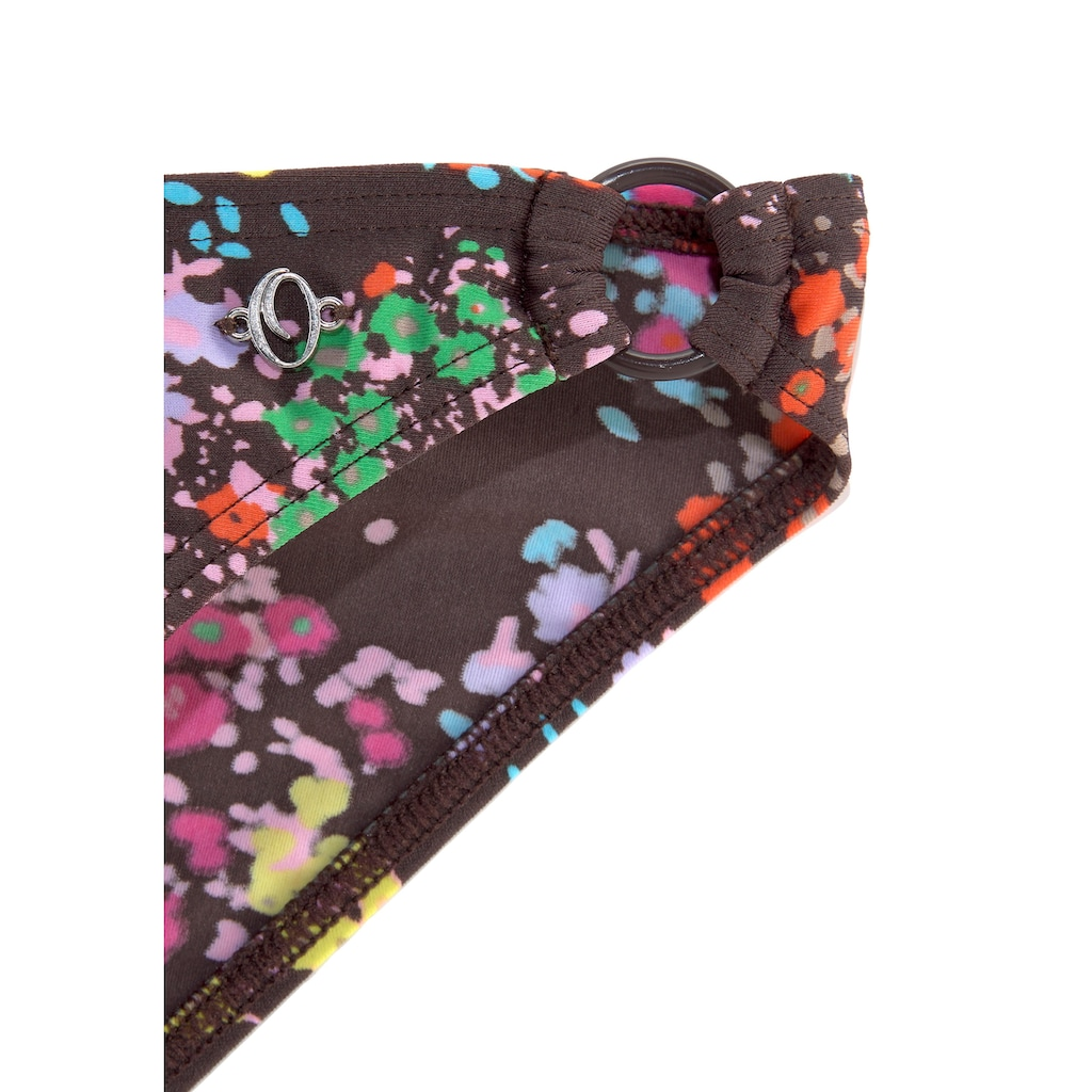 s.Oliver Beachwear Triangel-Bikini, mit modischem Blütenprint