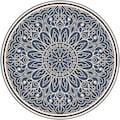 MySpotti Vinylteppich »Buddy Dilan«, rund, 0,03 mm Höhe, rund, wasserfest und statisch haftend