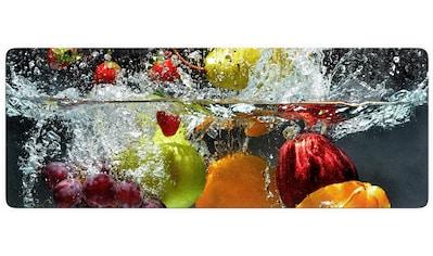 Wall-Art Glasbild »Erfrischendes Obst«, in 2 Größen kaufen