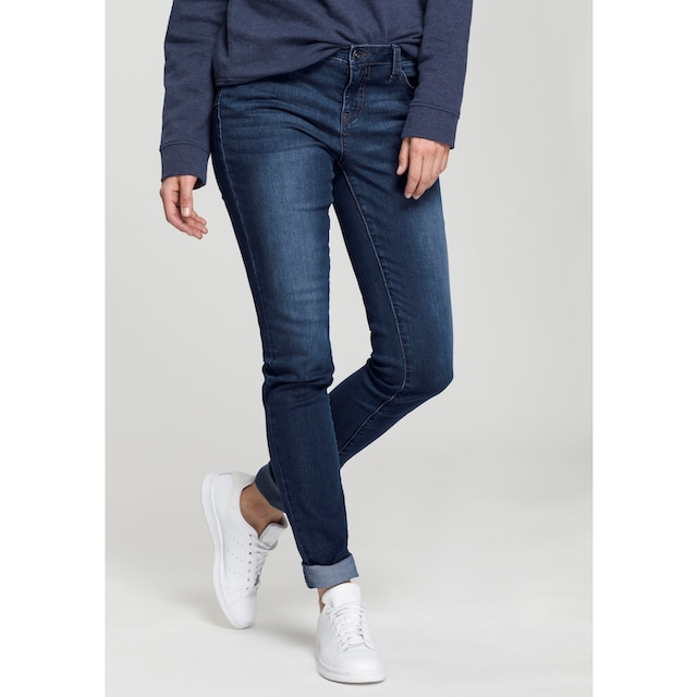 H.I.S Skinny-fit-Jeans »Shaping Regular-Waist mit Push-up Effekt«