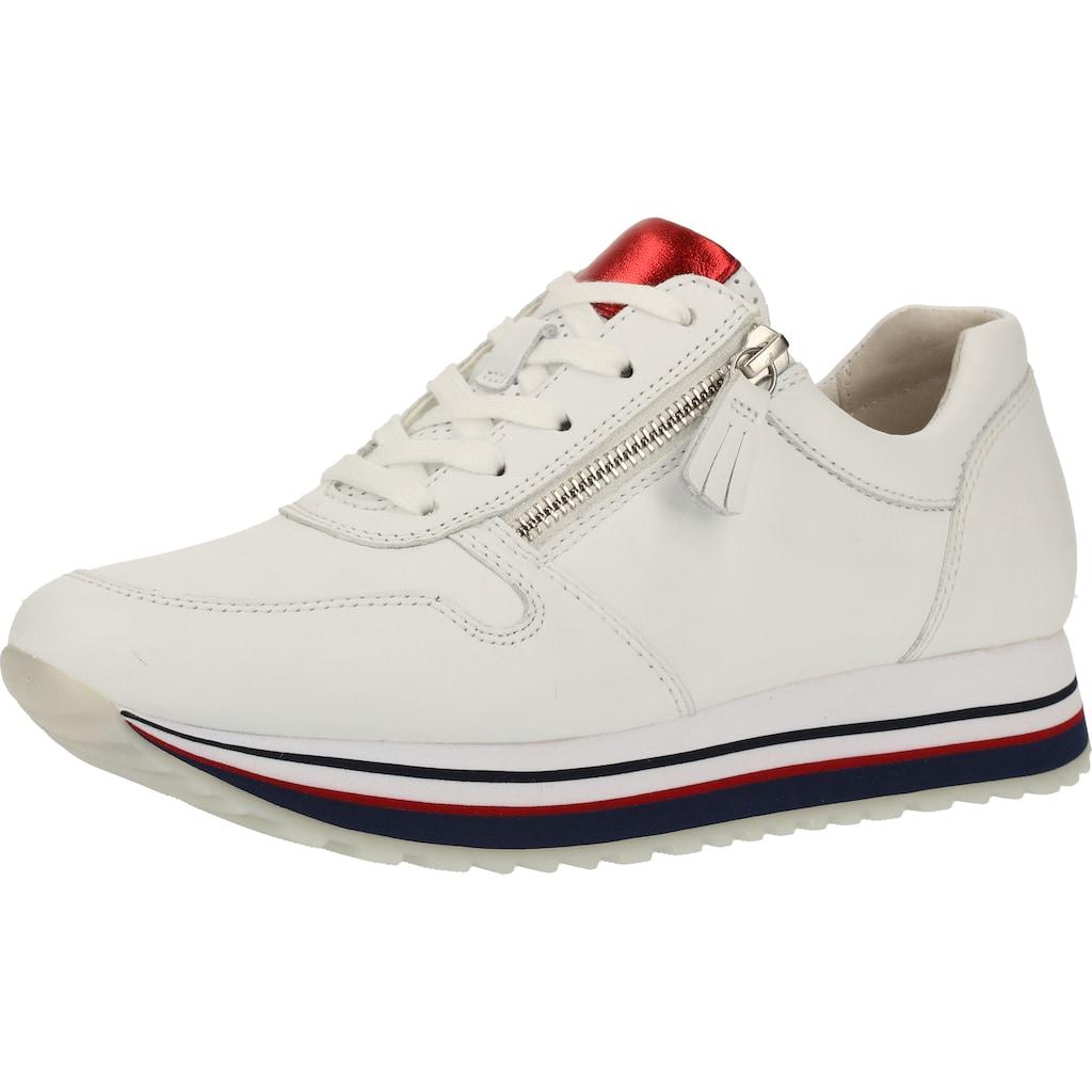 Gabor Sneaker »Glattleder«