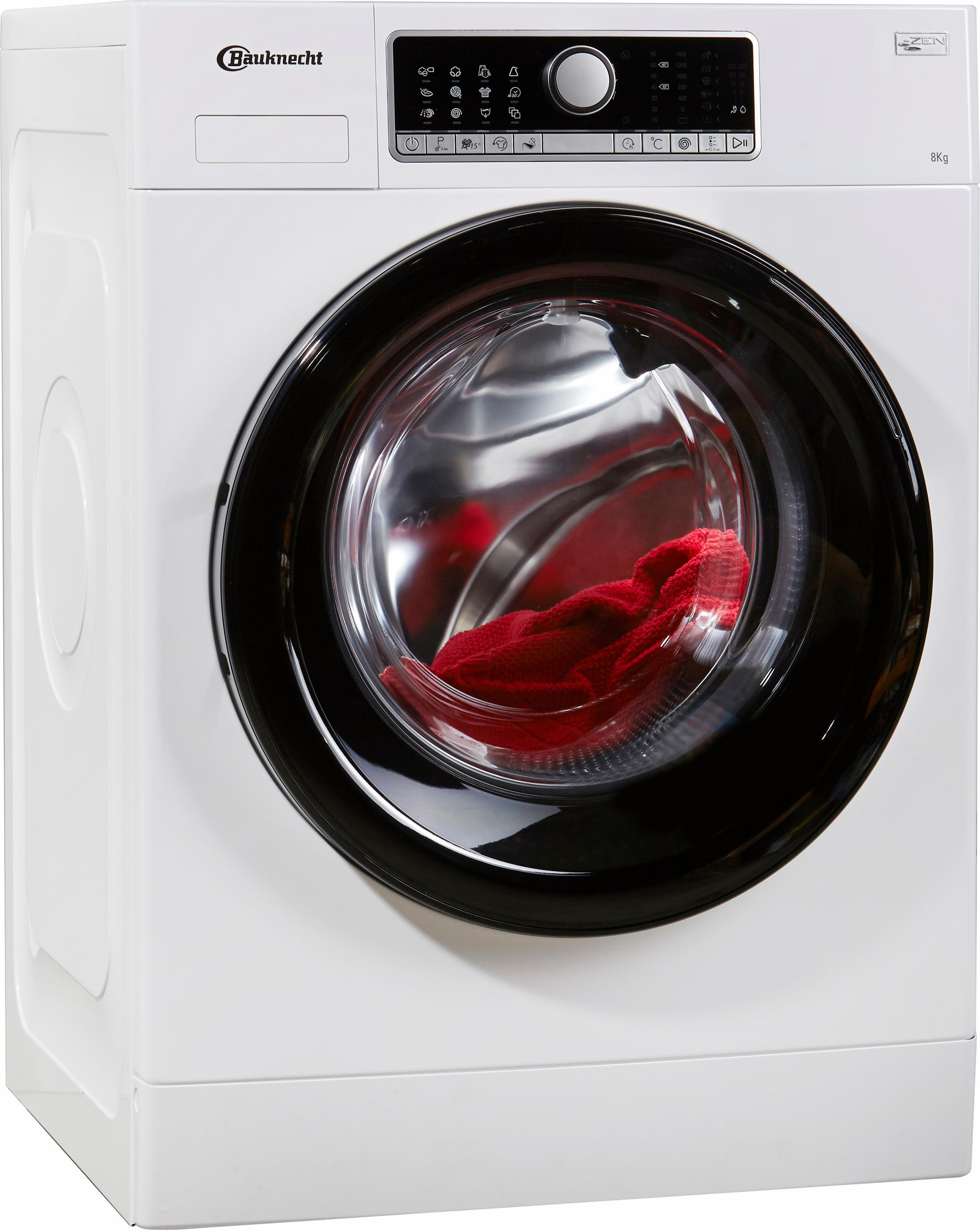 BAUKNECHT Waschmaschine WM Style 824 ZEN   Bad > Waschmaschinen und Trockner > Frontlader   Weiß   Bauknecht