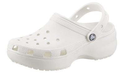 Crocs Clog »Classic Platform Clog W«, mit trendiger Plateausohle kaufen