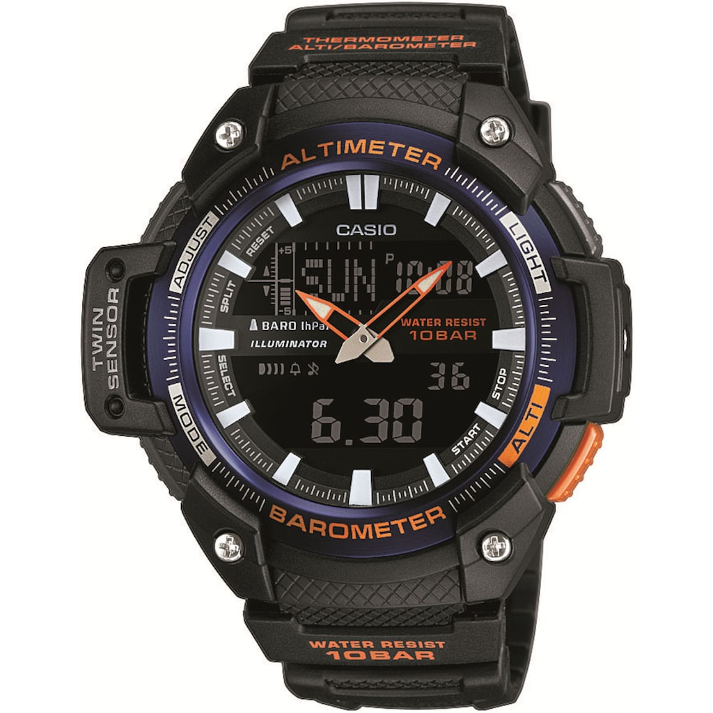 Casio Collection Chronograph »SGW-450H-2BER«