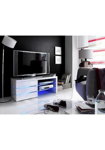 MCA furniture Lowboard »Sonia«, 4er-LED-Beleuchtung Blau kaufen
