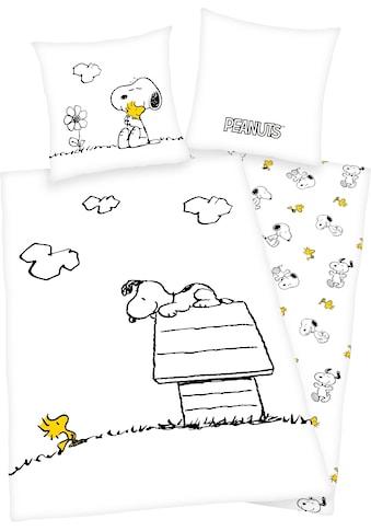 PEANUTS Wendebettwäsche »Peanuts«, mit tollem Peanuts Motiv kaufen