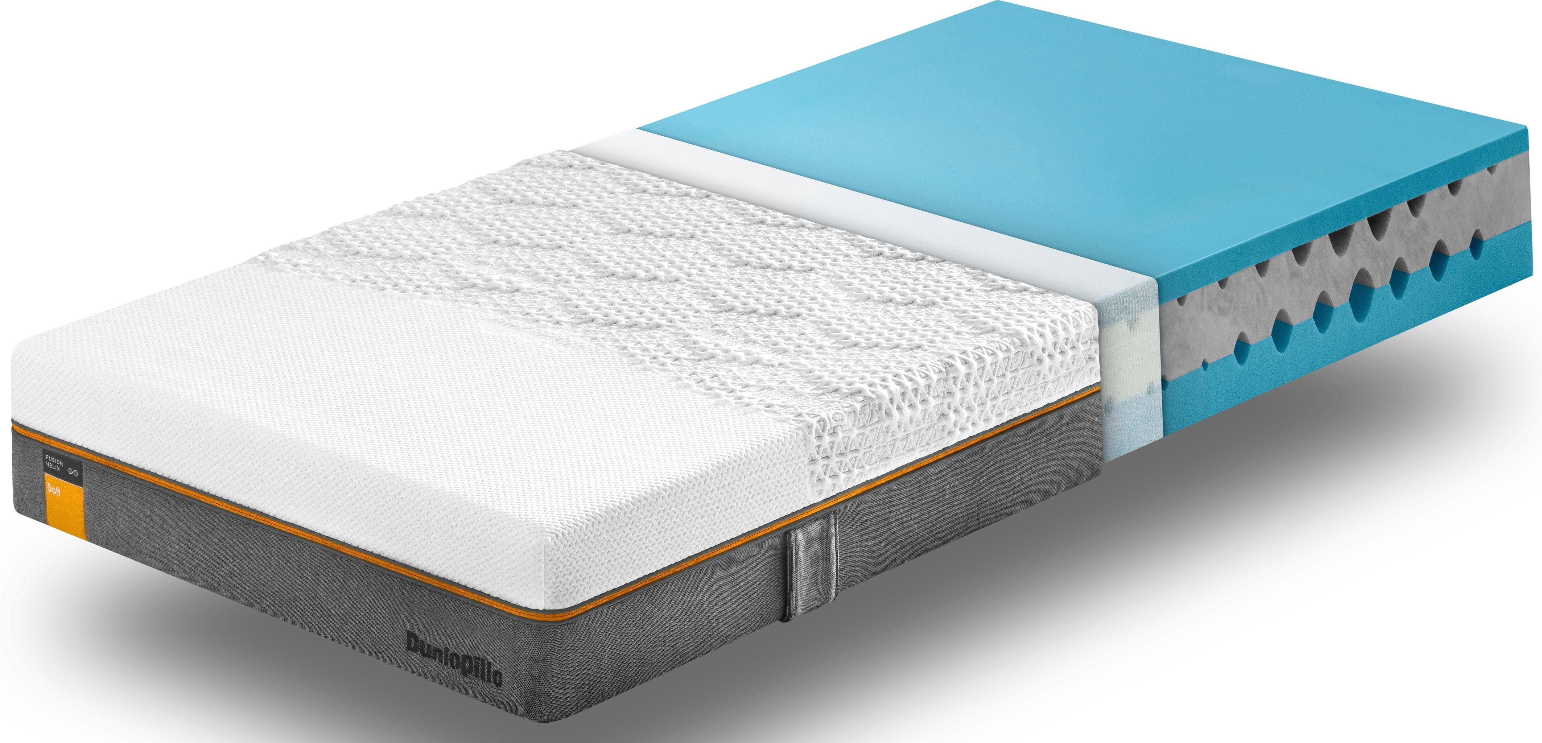 Kaltschaummatratze Fusion Helix Soft Dunlopillo better sleep 23 cm hoch