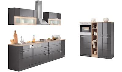HELD MÖBEL Küchenzeile »Wien«, mit E - Geräten, Breite 440 cm, wahlweise mit Induktion kaufen