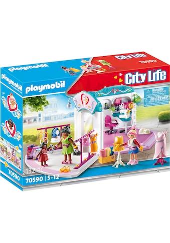 Playmobil® Konstruktions-Spielset »Fashion Design Studio (70590), City Life«, (132... kaufen