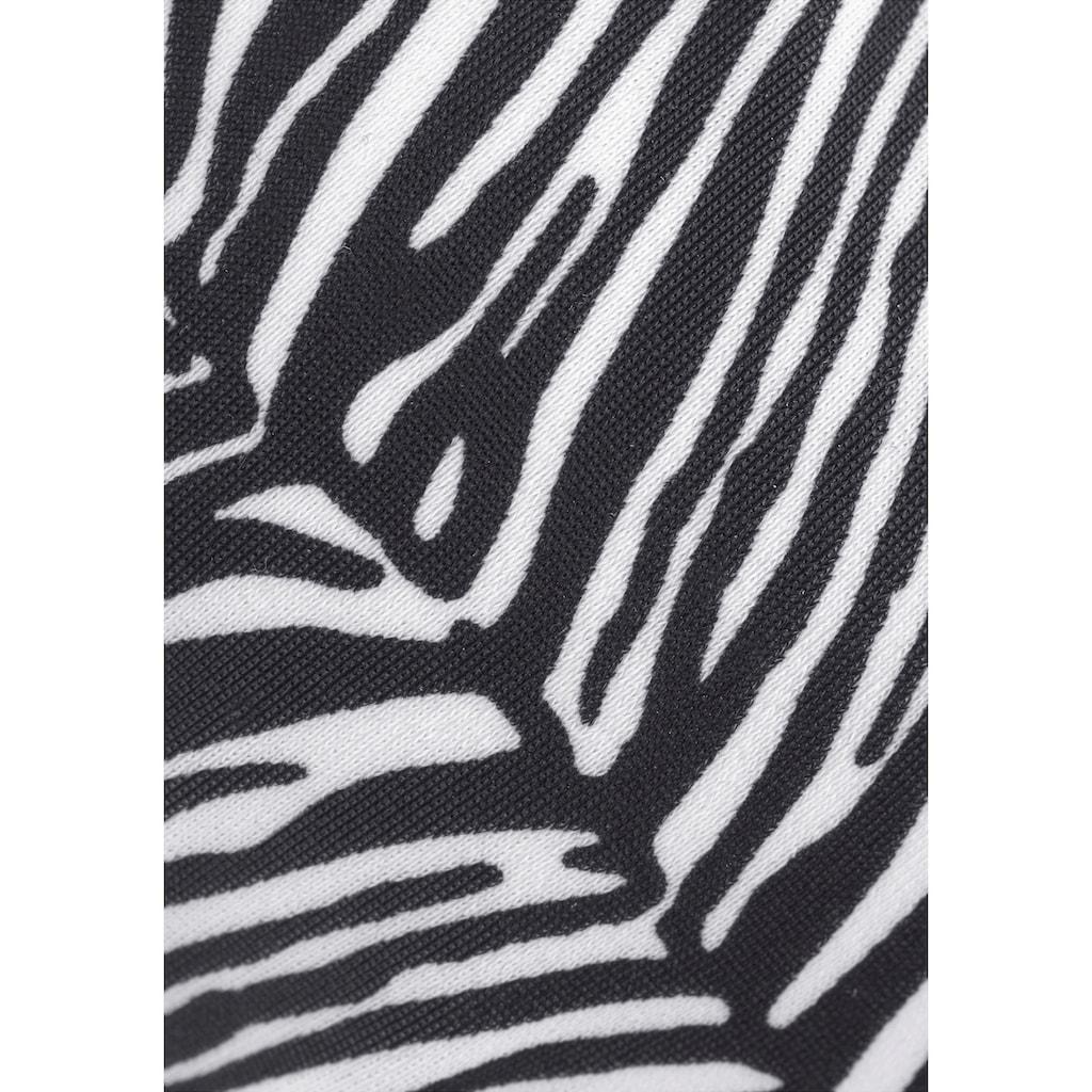 Venice Beach Bügel-Bikini-Top »Sugar«, mit abstraktem Animalprint