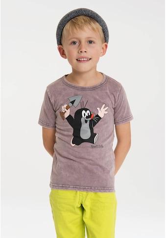 LOGOSHIRT T-Shirt »Der kleine Maulwurf«, mit lizenziertem Originaldesign kaufen