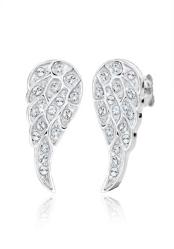 Elli Paar Ohrstecker »Flügel Swarovski® Kristalle 925 Silber« kaufen