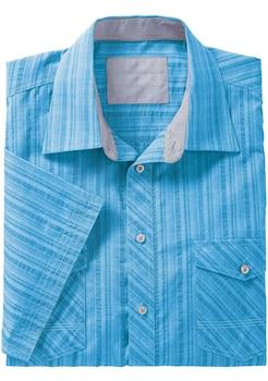 Marco Donati Kurzarm - Hemd in Seersucker - Qualität kaufen 7722991e3f