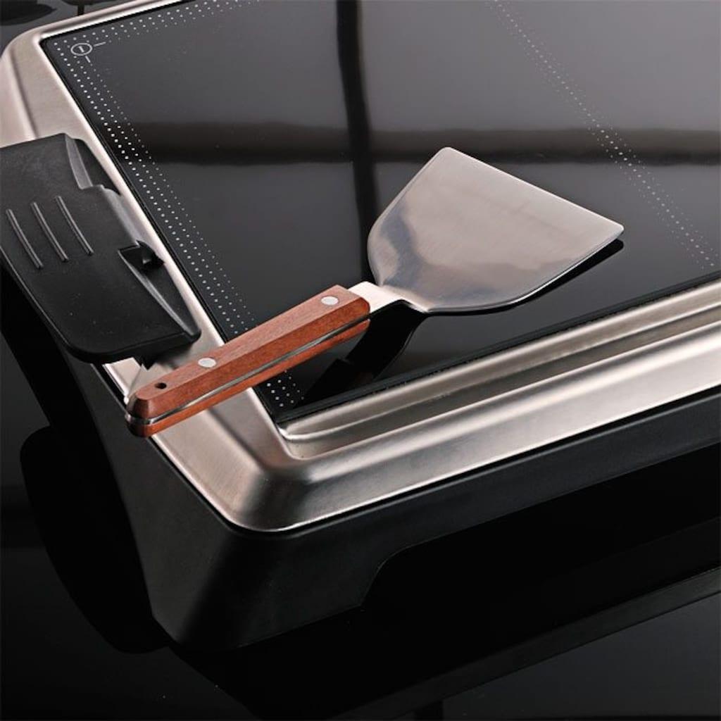 Gastroback Tischgrill Teppanyaki Glas-Grill Advanced, 1280 Watt