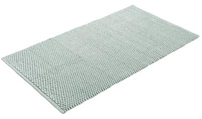 Home affaire Badematte »Dalia«, Höhe 4 mm, beidseitig nutzbar, Badgarnitur, 100% Baumwolle kaufen