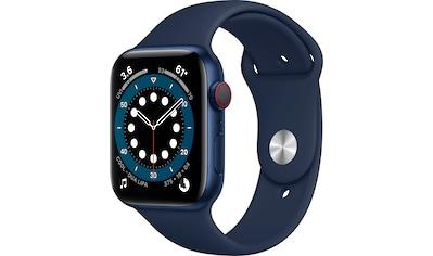 Apple Series 6 GPS + Cellular, Aluminiumgehäuse mit Sport Loop 44mm Watch (Watch OS 6) kaufen