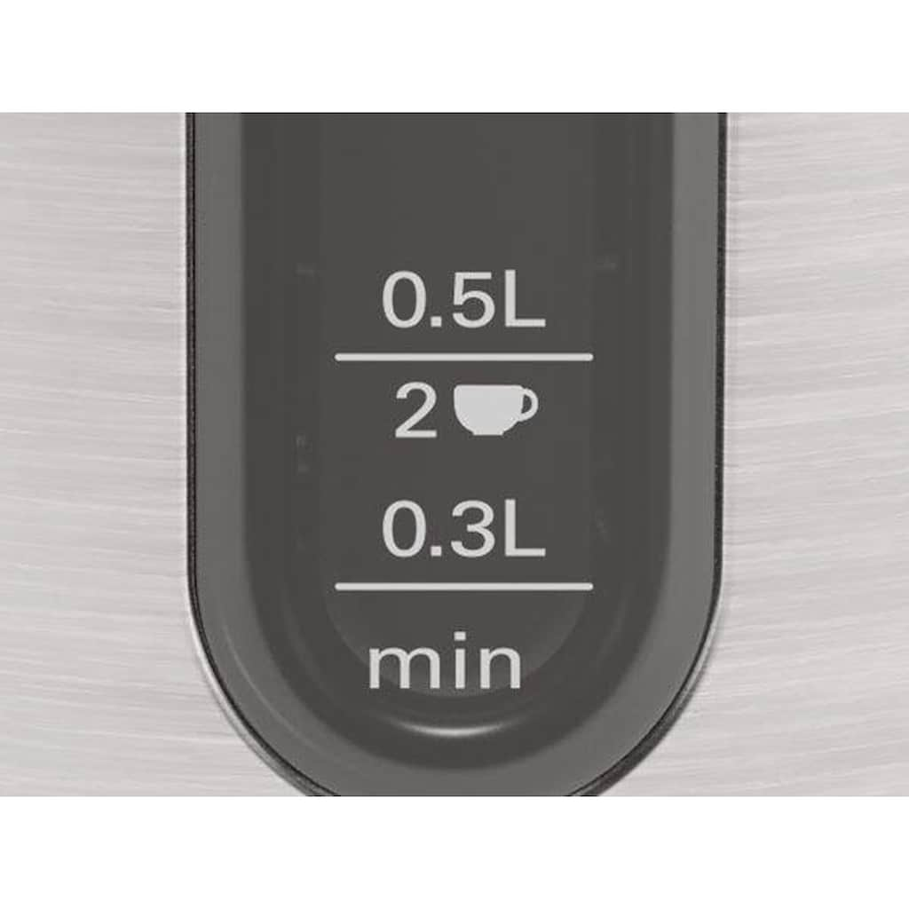 BOSCH Wasserkocher »TWK4P440 DesignLine«, 1,7 l, 2400 W