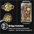 AEG Induktions-Kochfeld »IKE6445AXB«, IKE6445AXB, Bridge-Funktion