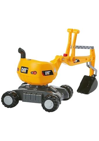 ROLLY TOYS Spielzeug - Aufsitzbagger »Digger CAT«, BxLxH: 43x102x74 cm kaufen
