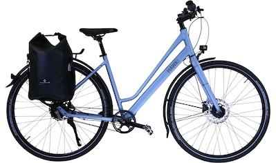 HAWK Bikes Trekkingrad »HAWK Trekking Lady Super Deluxe Plus Sky Blue«, 8 Gang Shimano Nexus Schaltwerk kaufen