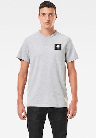 G-Star RAW Rundhalsshirt »Badge Logo Tee« kaufen