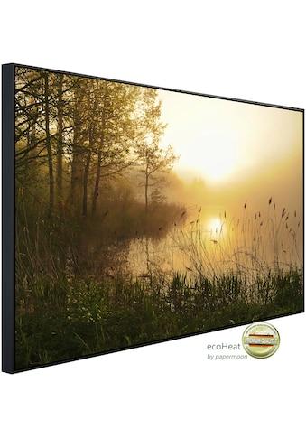 Papermoon Infrarotwandheizung »Atemberaubende neblige Landschaft«, sehr angenehme... kaufen