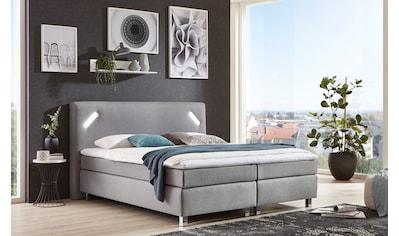 Westfalia Schlafkomfort Boxspringbett, mit LED-Beleuchtung und Topper kaufen