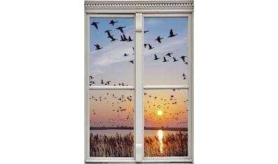 queence Wandsticker »Vogelschwarm« kaufen