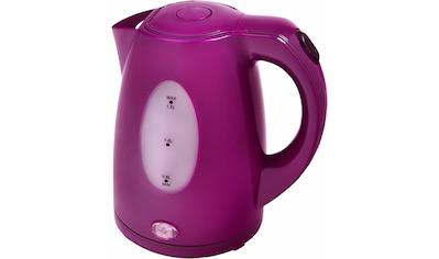 Efbe-Schott Wasserkocher »SCWK5010«, 1,5 l, 2200 W, lila kaufen