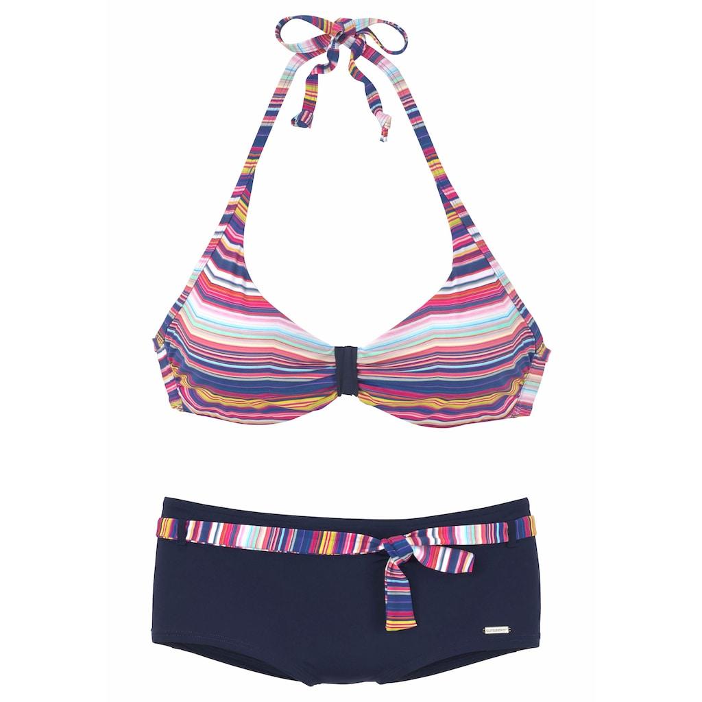 Sunseeker Bügel-Bikini, mit geraffter Mitte