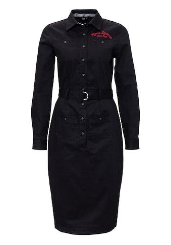 QueenKerosin Hemdblusenkleid »Road Queens«, in Vintage-Optik kaufen