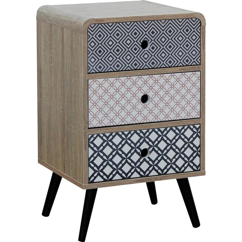 SIT Kommode »Mailbox«, Dekoroberflächen im Scandi Look, Shabby Chic, Vintage