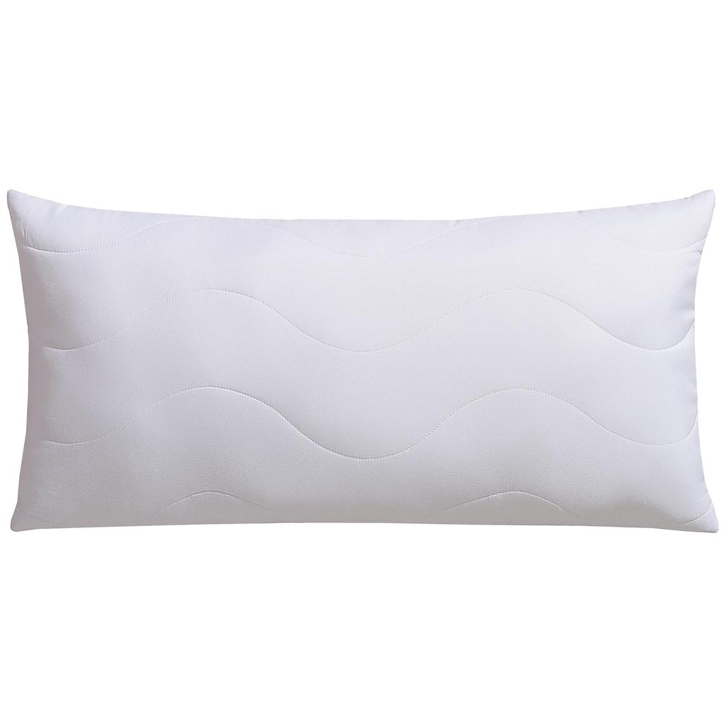 Jekatex Nackenstützkissen »Soft«, Füllung: Comforel® Hohlfaser, Bezug: Microfaser, (1 St.), mit AGR-Gütesiegel (Aktion Gesunder Rücken e.V)