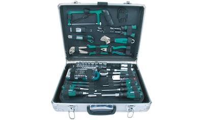 Brüder Mannesmann Werkzeuge Werkzeugset »Alu-Werkzeugkoffer«, (Set, 124 St.) kaufen
