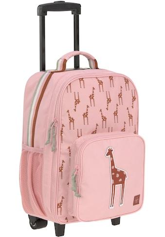 LÄSSIG Kinderkoffer »Safari Giraffe, rosa«, 2 Rollen kaufen