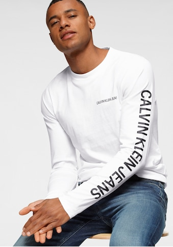 Calvin Klein Jeans Langarmshirt »ESSENTIAL INSTIT LS TEE« kaufen