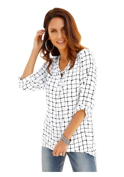 efc53ba3aa Classic Inspirationen Bluse in zarter Crêpe - Qualität kaufen