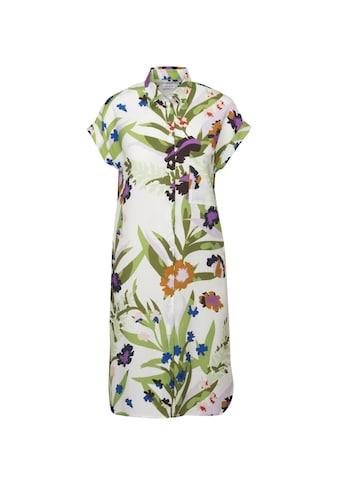 seidensticker Sommerkleid »Schwarze Rose«, Kurzarm Kragen Floral kaufen