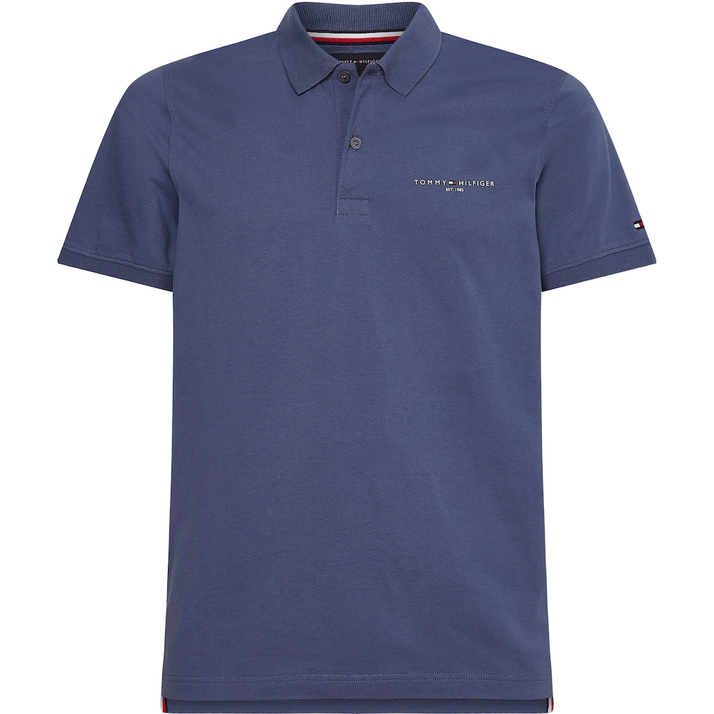 TOMMY HILFIGER Poloshirt »CLEAN JERSEY SLIM POLO«