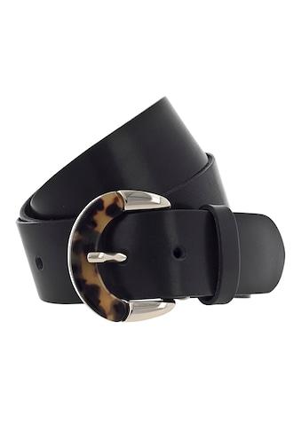 b.belt Ledergürtel, Schließe mit Animal-Design kaufen