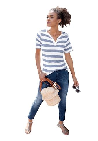 Casual Looks Shirt im lässigen Streifendessin kaufen