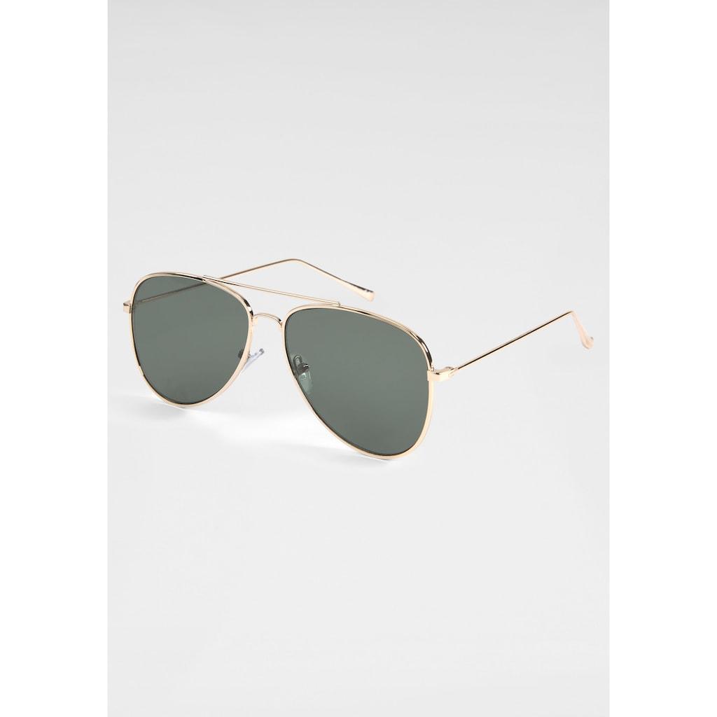 PRIMETTA Eyewear Pilotenbrille, mit dezentem Vollrand