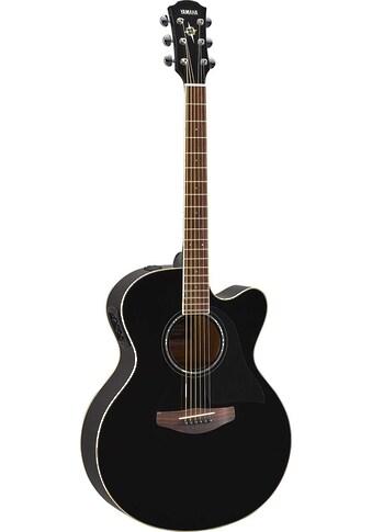 Yamaha Akustikgitarre »E-Akustikgitarre CPX600BL, Black« kaufen