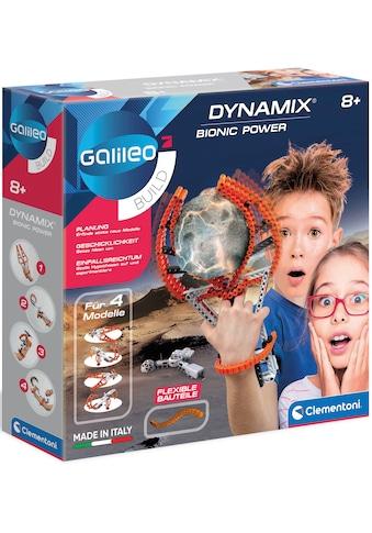 Clementoni® Experimentierkasten »Galileo Bionic Power - Dynamix« kaufen