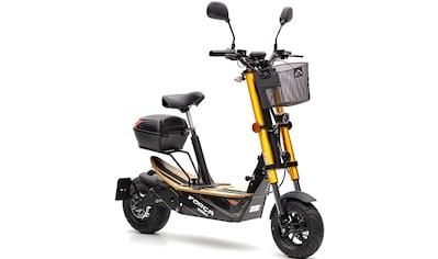 Forca E-Scooter »Bossman 1500 Safety 45 km/h (inkl. Blinker + Gepcäck-Case)« kaufen