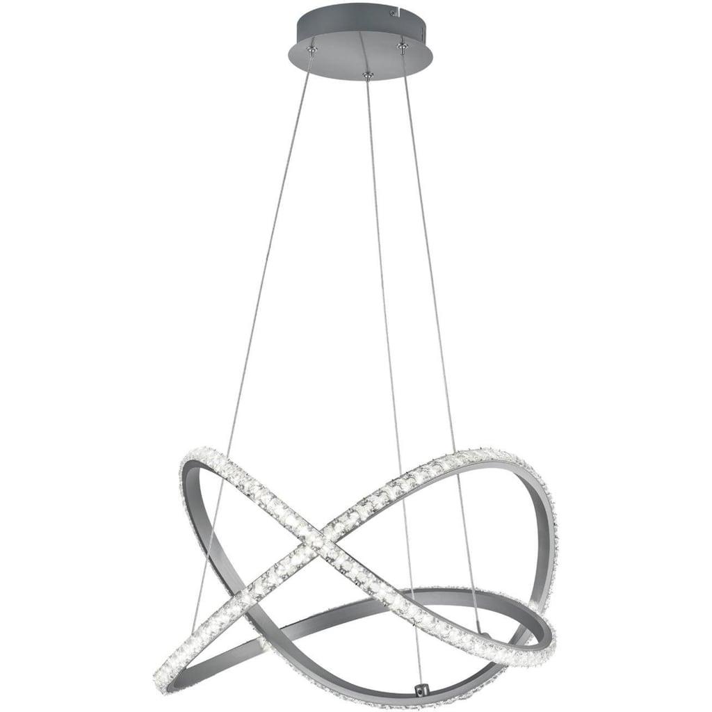 TRIO Leuchten LED Pendelleuchte »KATHARINA«, LED-Board, 1 St., Warmweiß, Hängeleuchte, RGBW, dimmbar