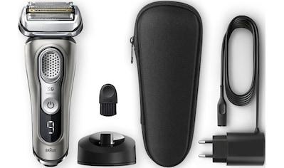 Braun Elektrorasierer »Series 9 9345s«, SmartClick-Präzisionstrimmer, mit Ladestation kaufen
