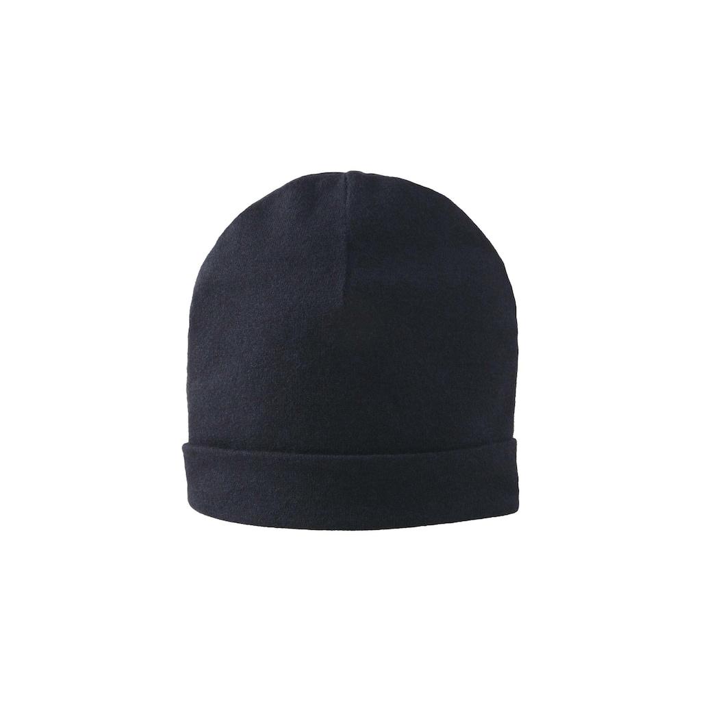 TOM TAILOR Strickmütze »Mütze mit Kaschmir-Anteil«