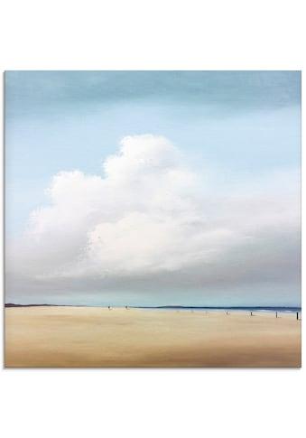 Artland Glasbild »Spaziergang II«, Strand, (1 St.) kaufen