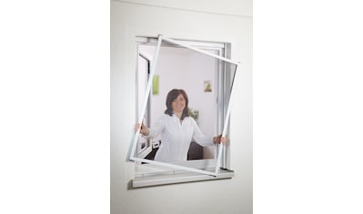 HECHT Insektenschutz - Fenster »MASTER SLIM«, weiß/anthrazit, BxH: 100x120 cm kaufen